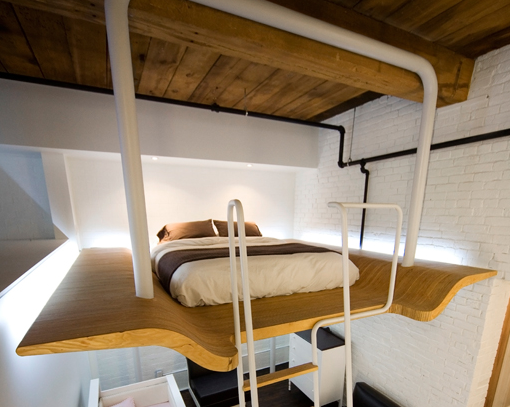 Suspended bed better taste than sorry - Beds hanging from ceiling ...